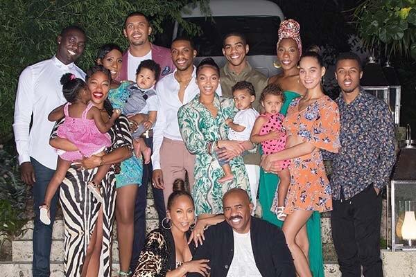 Broderick Harvey's family