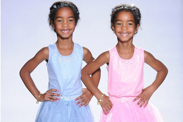 Sean Combs' twin daughters, Jessie James Combs and D'Lila Star Combs