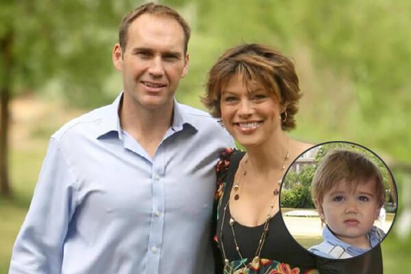 Kate Silverton's son Wilbur Silverton-Heron