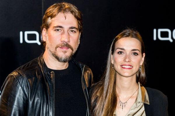 Alberto Ammann's girlfriend Clara Mendez-Leite
