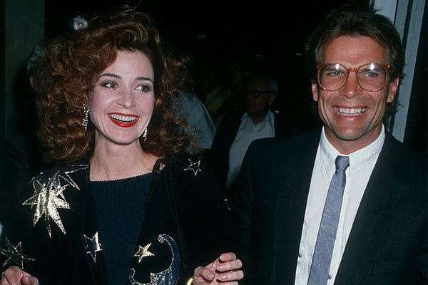 Annie Potts and her ex-husband Scott SEnechal