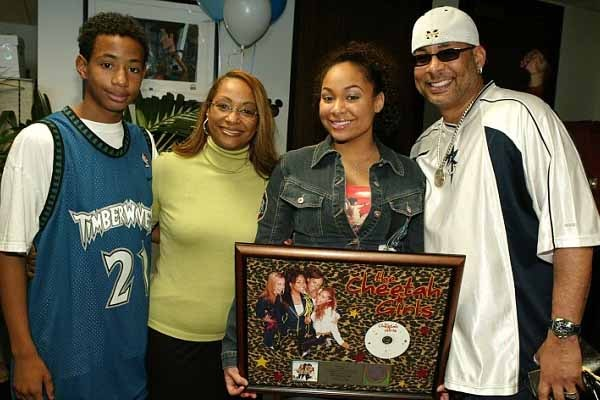 Blaize Pearman is Raven Symone's brother