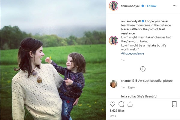 Anna Wood's daughter is Bowie Rose DeHaan
