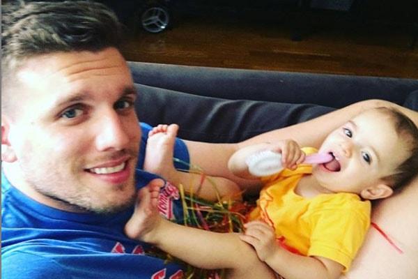 Chris DiStefano's daughter Delilah DiStefano
