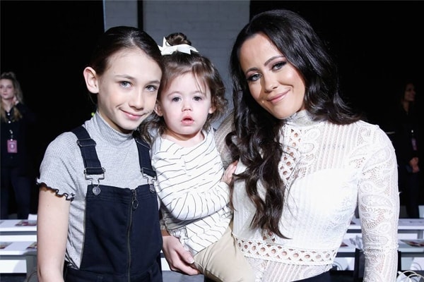 Jenelle Eason's daughter is Ensley Jolie Eason