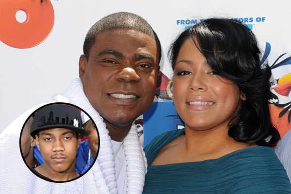 Tracy Morgan's eldest son is Gitrid Morgan
