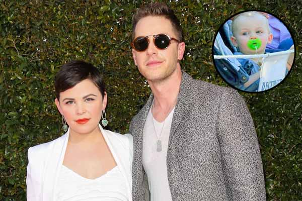 Ginnifer Goodwin's son, Hugo Wilson Dallas