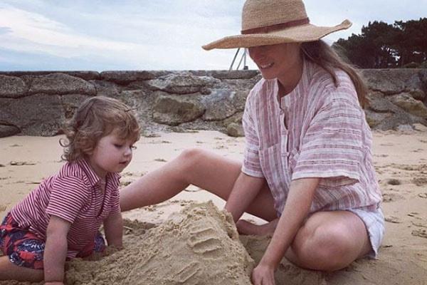 Lauren Bush's son, James Lauren