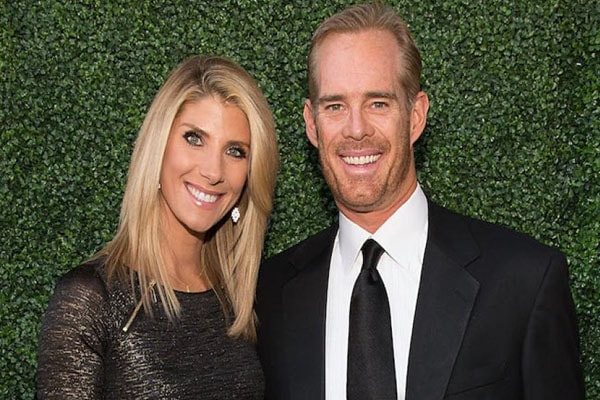 Joe Buck and his current wife, Michelle Beisner