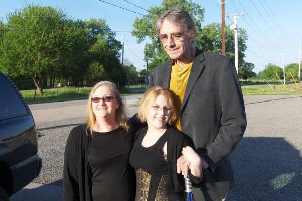 Peter Mayhew's daughter Katy Mayhew