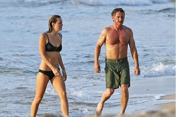 Leila George D'Onofrio's boyfriend is Sean Penn