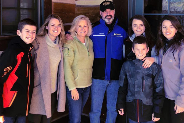 Dick Cheney's daughter, Liz Cheney's family picture