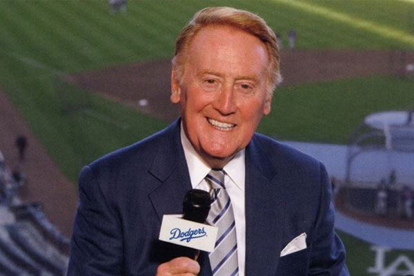 Michael A. Scully's dad, Vin Scully