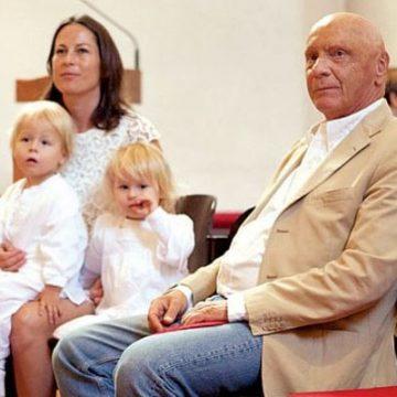 Meet Max Lauda and Mia Lauda – Photos Of Niki Lauda's Twin Children With Wife Birgit Wetzinger