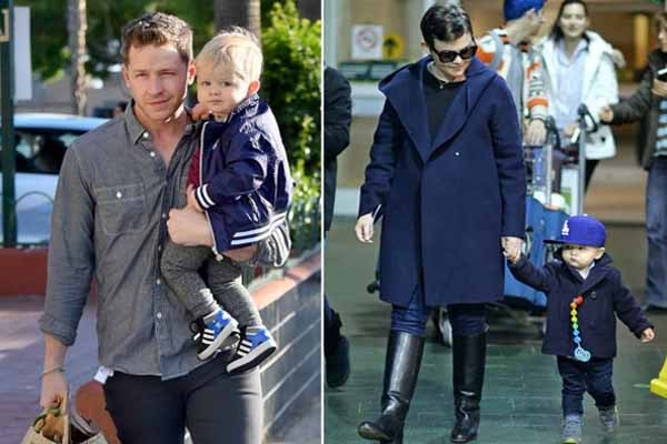 Oliver Finlay Dallas is Ginnifer Goodwin's son with Josh Dallas
