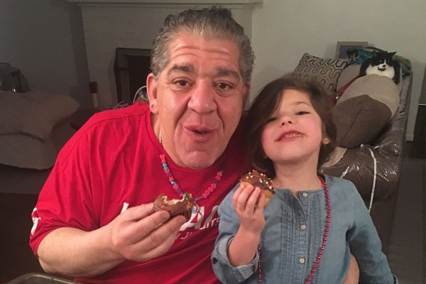 Joey Diaz is pictured with his sweet daughter Mercy Diaz