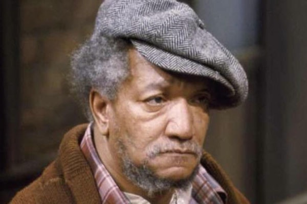 Redd Foxx is a comedian and an actor