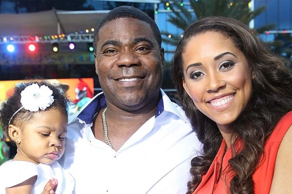 Maven Sonae Morgan's dad is Tracy Morgan