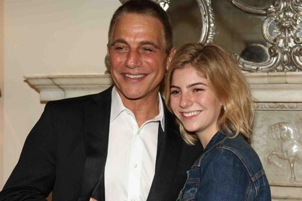 Emily Danza with father Tony Danza