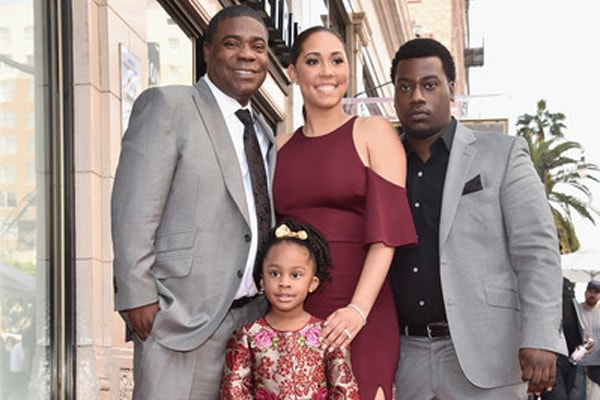 Tracy Morgan Jr. dad is Tracy Morgan
