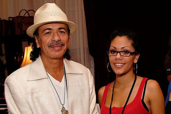 Carlos Santana's daughter Angelica Santana