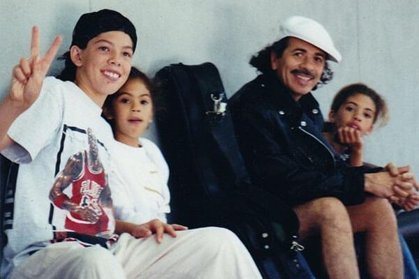 Carlos Santana's children