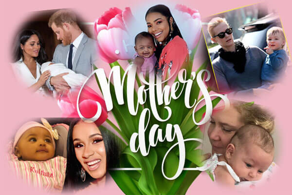 Celebrity Mother's Day 2019