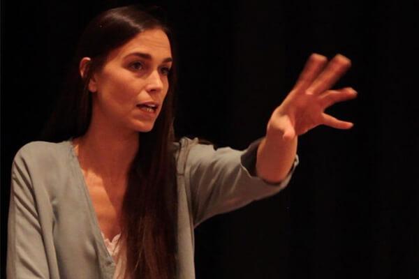 Acting teacher Clara Mendez-Leite, Alberto Ammann's girlfriend