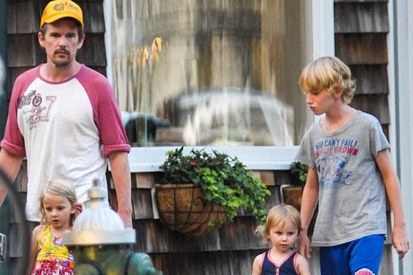 Ethan Hawke's children Clementine Jane, Indiana and Loren