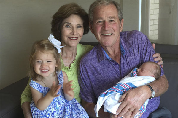 Jenna Bush and Henry Hager's daughter Poppy Louise Hager