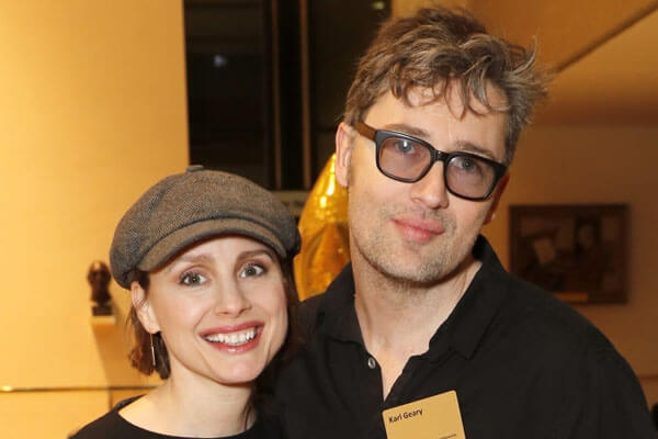 Laura Fraser and Karl Geary's daughter Lila Geary