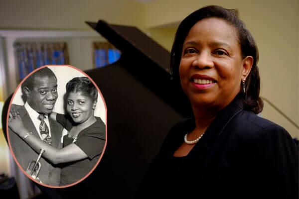 Louis Armstrong's daughter Sharon Preston