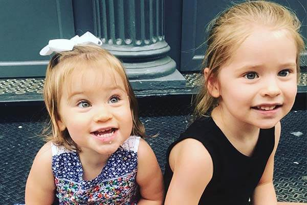 Jenna Bush's daughters Margaret and Poppy Louise