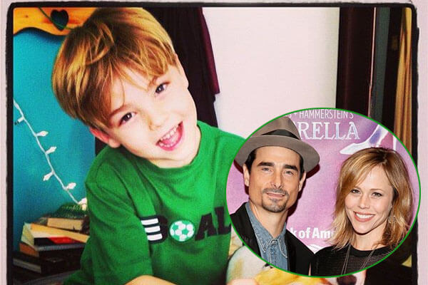 Kevin Richardson and Kristin Richardson's son Mason Richardson