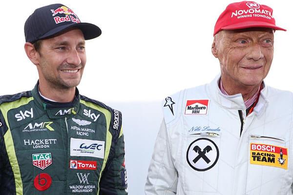 Niki Lauda's eldest son Mathias Lauda