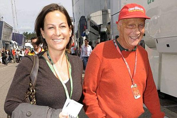 Niki Lauda's ex-wife Birgit Wetzinger