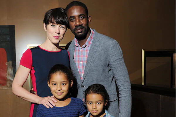 Olivia Williams' daughters Esme Ruby and Roxana May