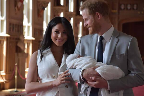 Harry and Meghan's son Archie Harrison Mountbatten-Windsor