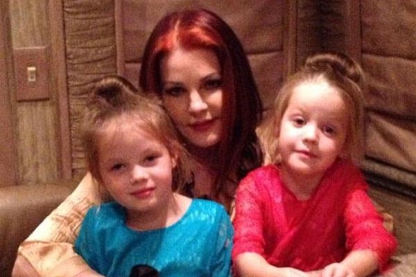 Priscilla Presley's granddaughters