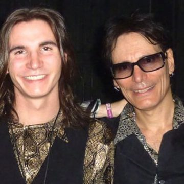 Meet Fire Vai – Photos Of Steve Vai's Son With Wife Pia Maiocco
