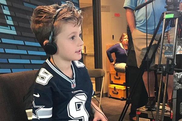 Tony Romo's son Rivers Romo