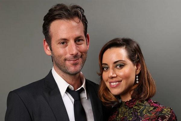 Aubrey Plaza and Jeff Baena Perfect Couple