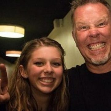 Meet Cali Tee Hetfield – Photos Of James Hetfield's Daughter With Wife Francesca Hetfield