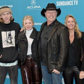 Meet Castor Virgil Hetfield – Photos Of James Hetfield's Son With Wife Francesca Hetfield