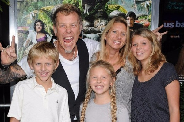 James Hetfield's son is Castor Virgil Hetfield