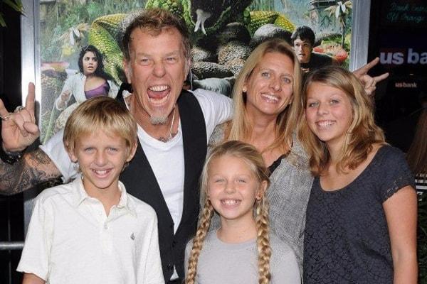 James Hetfield's son is Castor Virgil Hetfield