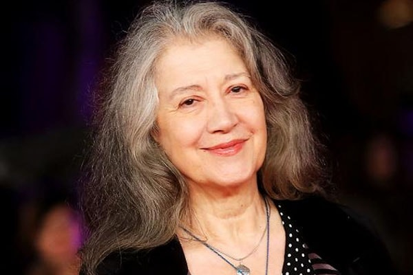 Martha Argerich mother of three daughters.