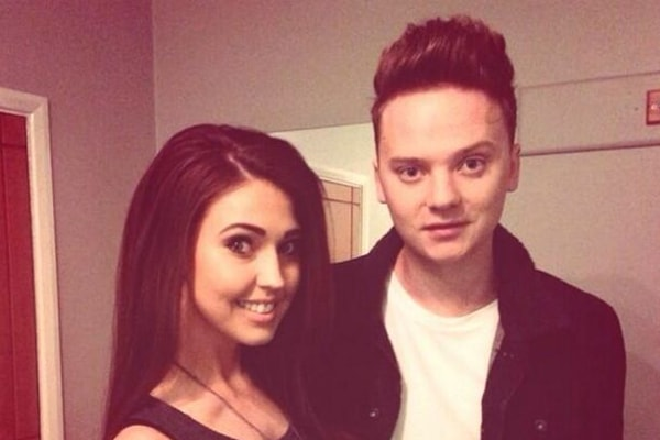 Conor Maynard and Victoria Tansey
