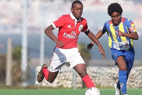 David Banda is signed up for Benfica Youth Team.