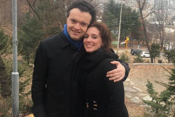 Karina Arzumanova is the wife of Evgeny Kissin.